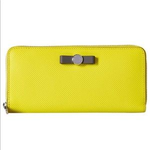Marc Jacobs Sophisticato Bow Slim Snap Wallet